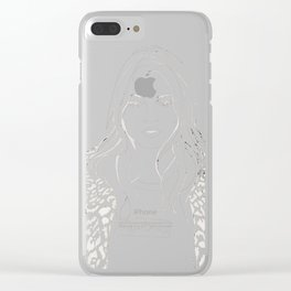 Kate M. X Supreme Clear iPhone Case