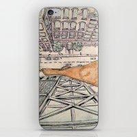 vertigo iPhone & iPod Skins featuring Vertigo by Rene Robinson