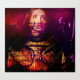 The divine revelation of Joan of Arc Canvas Print