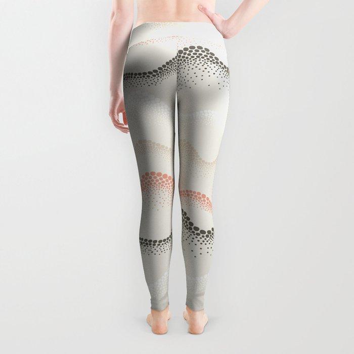 Retro Dotted Pattern 02 Leggings
