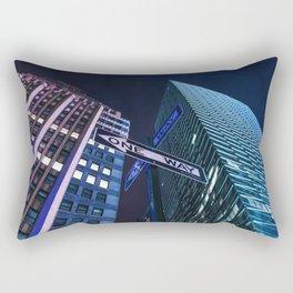 One Way NYC Rectangular Pillow