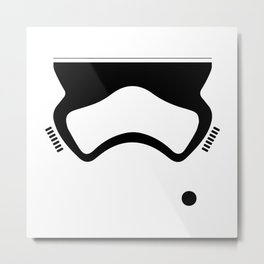 First Order Stormtrooper Metal Print