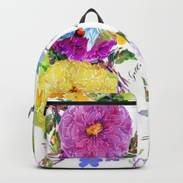 Gather Roses Backpack