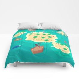 Tahiti Treasure Comforters