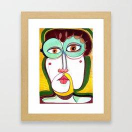 Clemente Framed Art Print