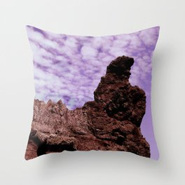 Stone Dragon Throw Pillow