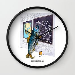 Keith Herring Wall Clock
