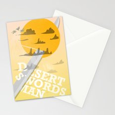 Desert Swordsman Stationery Cards