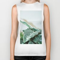 plant Biker Tanks featuring Plant by Katalyst