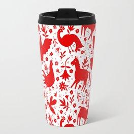 Otomi in red Travel Mug