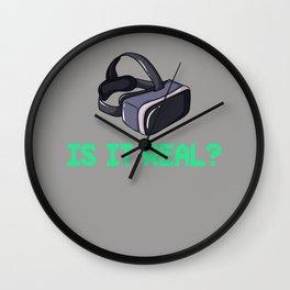 VR Virtual Reality Gift Goggles Glasses Wall Clock