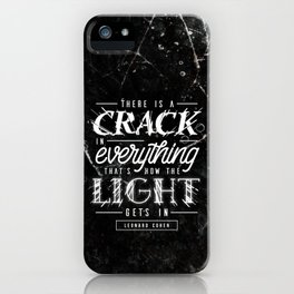 Crack iPhone Case