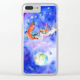 Simon and Chloe - Is there Life Beyond Music? Clear iPhone Case