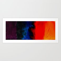 multi-colors Art Print