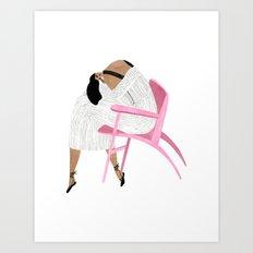 Tibi Gal Art Print
