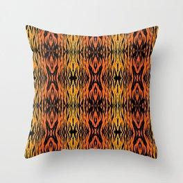 Tiger Style Throw Pillow