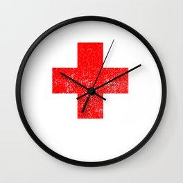 Funny Broken Wrist Fractured Bone Injury  Wall Clock