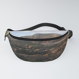 SANDYMOUTH BEACH SUMMER SOLSTICE NORTH CORNWALL Fanny Pack