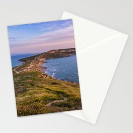 Landscape ocean 5 Stationery Cards