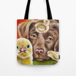 Chicksitting Afternoon Tote Bag