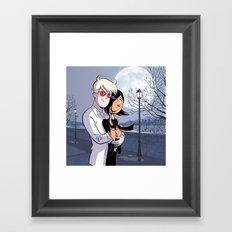 Albin et Karine Framed Art Print