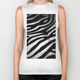 Zebra rug decor Biker Tank