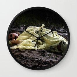 Birthing Capricorn Wall Clock