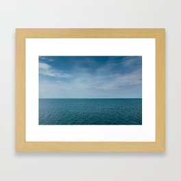 Lake Erie Framed Art Print