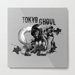 Kaneki ken blackwhite - Tokyo Ghoul Metal Print