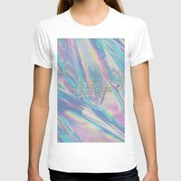 hologram T-shirts featuring I LIVE IN A HOLOGRAM WITH YOU... by Beauty Killer Art