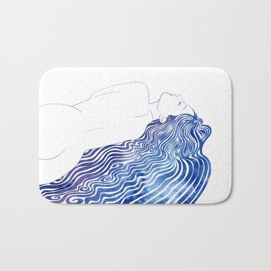 Water Nymph XXXVIII  Bath Mat