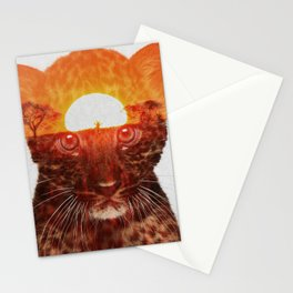 Leopard Cub Stationery Cards