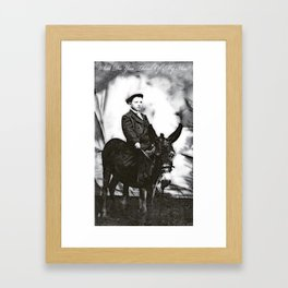 What Do You Think Of My Ass Framed Art Print