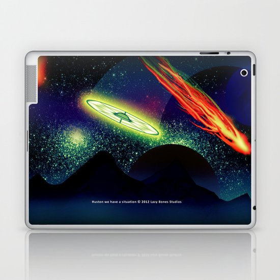 Huston we have a situation 022 Laptop & iPad Skin