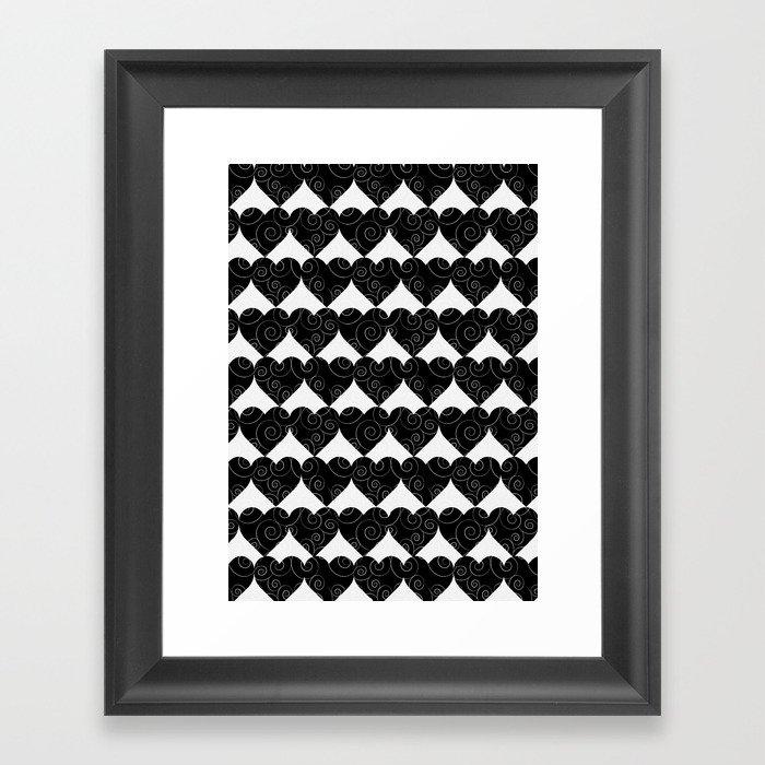 all heart Framed Art Print