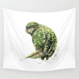 Mr Kākāpō Wall Tapestry