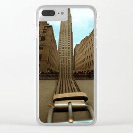 Fasten Your Steelbelts Clear iPhone Case