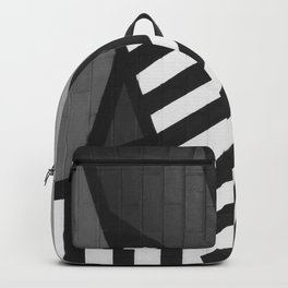 Abstract Art (Black and White) Backpack