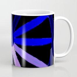 blue spokes Coffee Mug