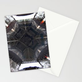 Under Eiffel HDR Stationery Cards