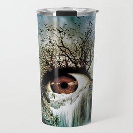 Cascade Crying Eye Travel Mug
