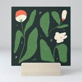 Plants In Space Mini Art Print
