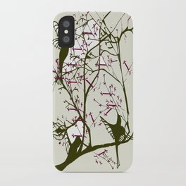 Hummingbirgds, before anything had a soul iPhone Case