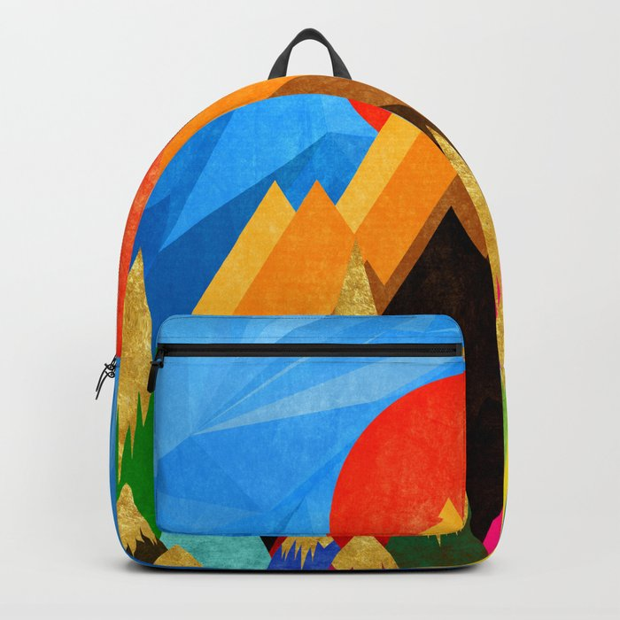 Golden Mountains Backpack