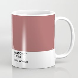 MANTONE® Nasty Woman Coffee Mug