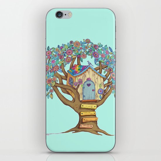 Live Simply, Love Trees iPhone & iPod Skin