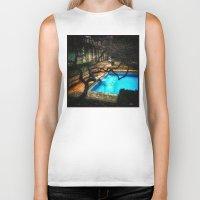 milan Biker Tanks featuring milan pool by chicco montanari