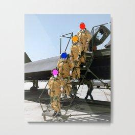 Américain pilots Metal Print