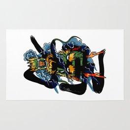 Brave Dragon Rug