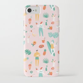 Beach party iPhone Case